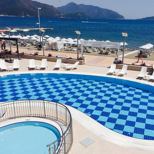 Pasa Beach Hotel Dalaman, Turkey